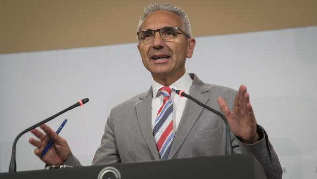 Miguel Ángel Vázquez, portavoz del Ejecutivo andaluz