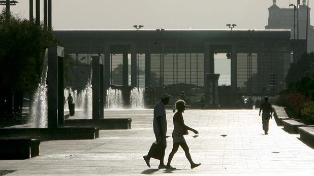 Día de calor en otoño en Córdoba