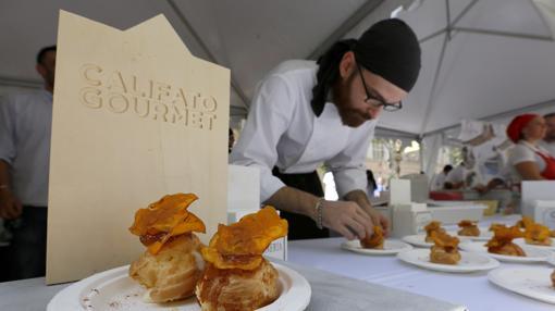 Una de las elaboraciones del pasado Califato Gourmet de Córdoba