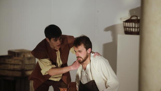 Representación teatral de «El hombre que esculpió a Dios»