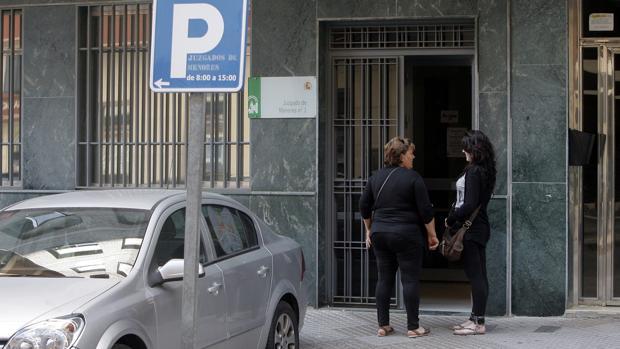 Fachada del juzgado de menores de Córdoba