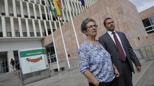 La madre del «niño pintor» de Málaga en los juzgados
