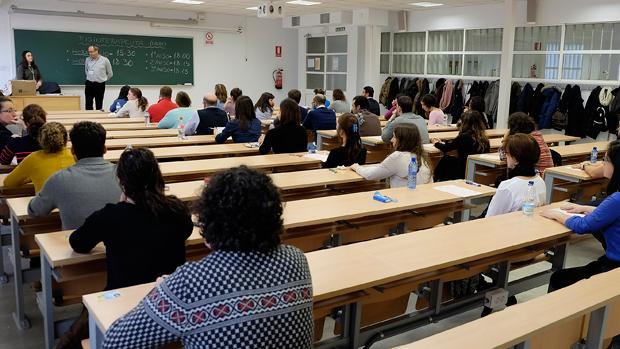 Más de 66.000 aspirantes convocados al examen del sábado para la Administración de Justicia