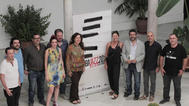 Presentación del festival, ayer en Orive