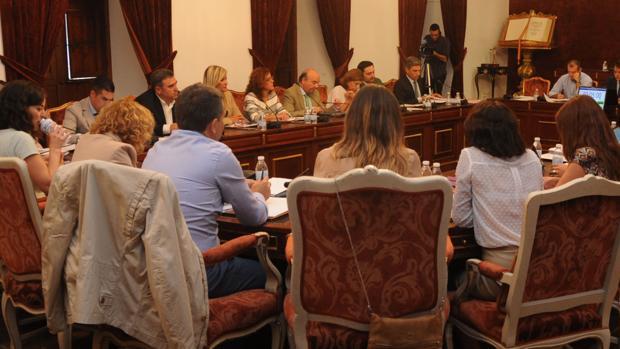 Pleno de la Diputación en el que se abordó la ayuda de la institución provincial a Guadalquivir Futuro