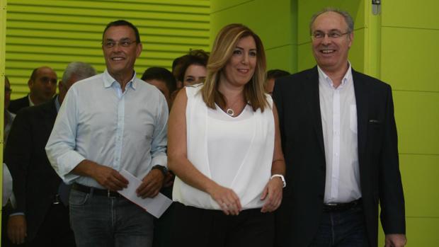 Susana Díaz en el Comité Director del PSOE-A