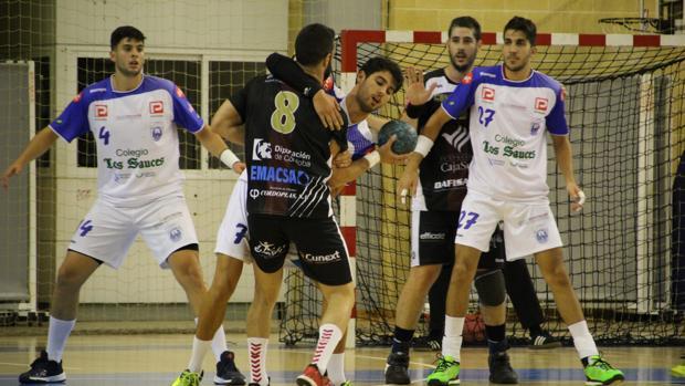 El Cajasur Córdoba, en el partido ante el Cisne BM