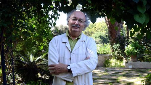 Antonio Colinas, durante una entrevista