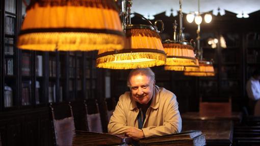 José Cruz Gutiérrez, en el Real Círculo de la Amistad