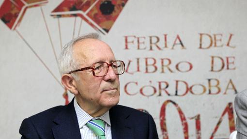 Francisco Solano Márquez, durate una Feria del Libro