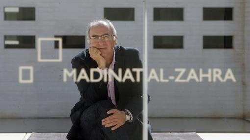 Antonio Vallejo, cuando era director de Medina Azahara