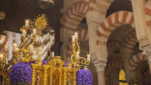 Nuestra Señora de las Angustias, en la Catedral