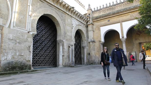 Celosía del muro norte de la Mezquita-Catedral