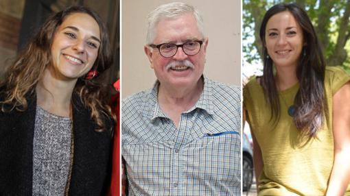 Noelia Vera, Manolo Monerero e Isabel Franco, «pablistas» en la órbita de Teresa Rodríguez