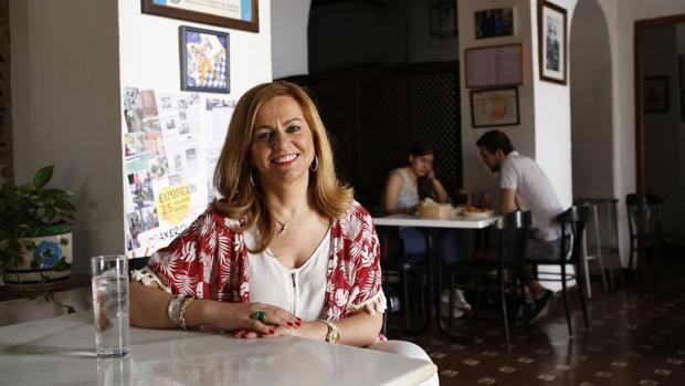 María Jesús Serrano en una entrevista para ABC Córdoba