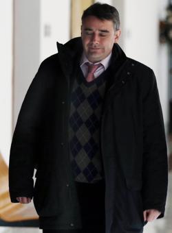 Moreno Yagüe, en el Parlamento