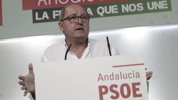 El secretario de organización del PSOE andaluz, Juan Cornejo