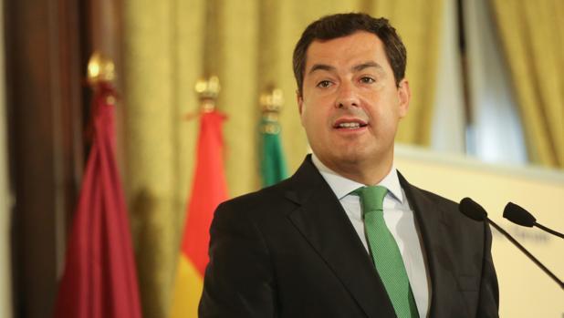 Juanma Moreno, en el Fórum Europa Tribuna Andalucía