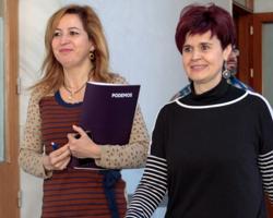Carmen Lizárraga y Esperanza Gómez