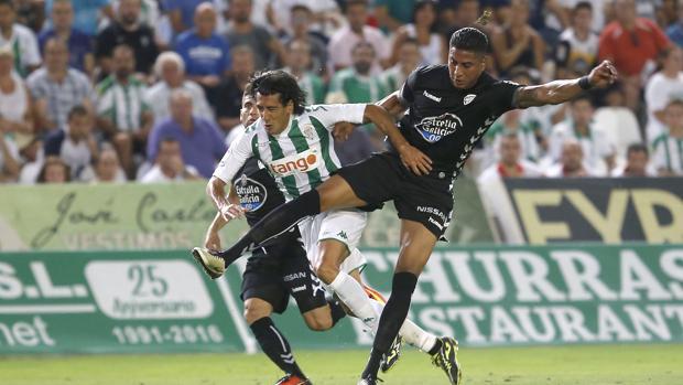 Pedro Ríos, antes de su lesión