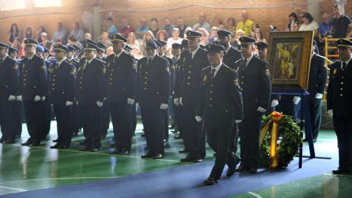 Acto de entrega de las medallas