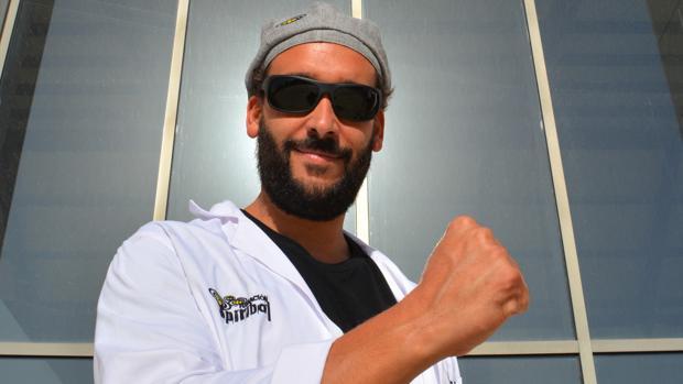 Jesús Candel, médico de Urgencias en Granada