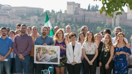 Impuslores de «Ahora Andalucía», este lunes en Granada