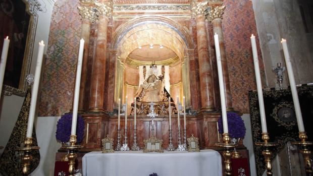 Camarín de Nuestra Señora de las Angustias
