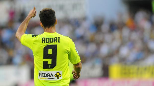 Rodri Ríos, delantero del Córdoba CF