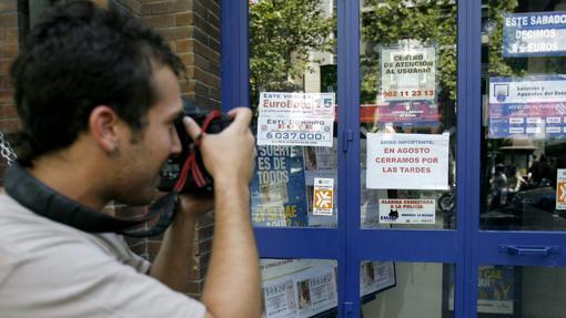 UN fotógrafo, a las puertas de «La Brujita del Sur»