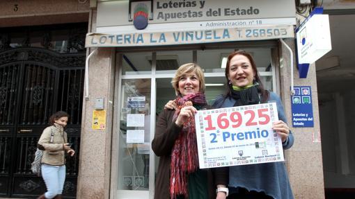 La administración de La Viñuela es de las que más premio reparte
