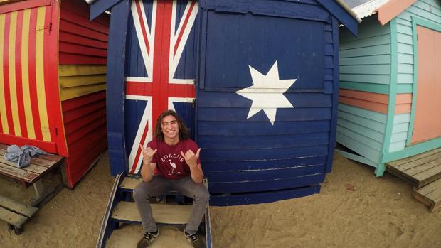 El cordobés Javier Fernánde-Martos disfruta de su beca en Australia