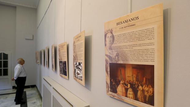 Panales sobre la visita de Isabel II a Córdoba