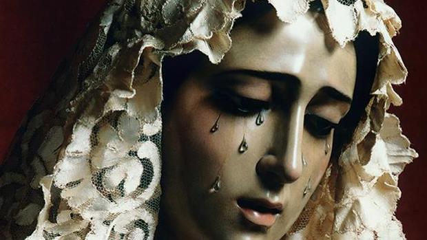 Cartel anunciador de XX aniversario de María Santísima de la O
