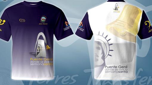 Diseño de la camiseta «manantera» del Ángel Ximénez