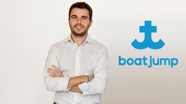 Alfonso Pastrana, fundador de la empresa Boatjump