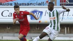 El Córdoba CF araña un sufrido un punto frente al Numancia