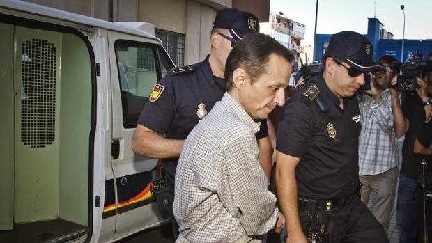 José Bretón es conducido a dependencias policiales
