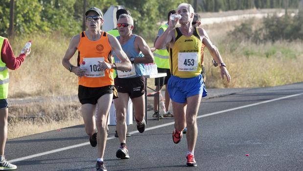 Atletas en una carrera popular de Córdoba