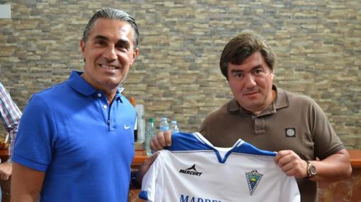 Sergio Scariolo junto a Alexander Grinberg