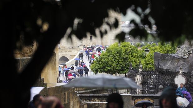 Los paraguas volverán a abrirse esta semana en Córdoba