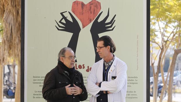 Dos de los protagonistas del reportaje: Pedro Córdoba e Ignacio Muñoz