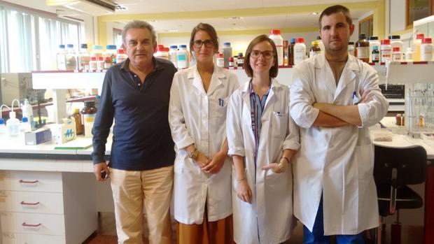 Investigadores de la Universidad de Almería que han desarrollado el estudio