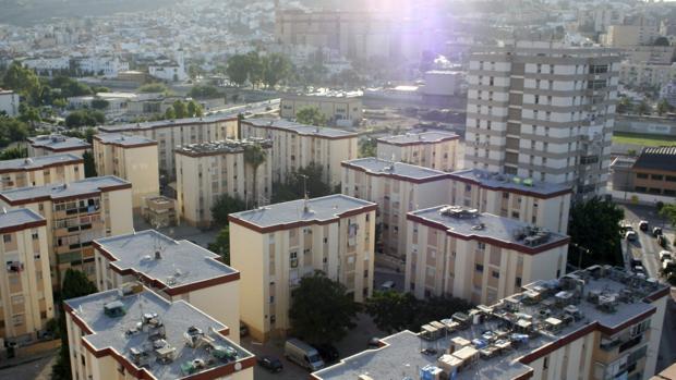 Vista aérea de La Palmilla, el barrio donde tenía su «sede» el «Principito»