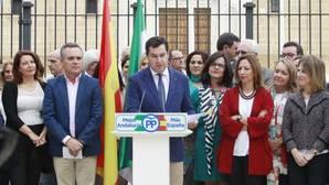 Juanma Moreno sitúa a Andalucía como freno al independentismo catalán