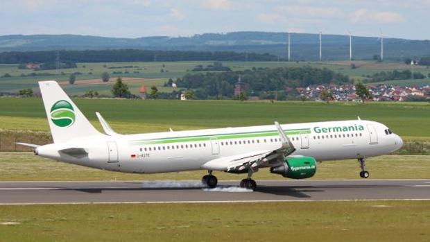 Una aeronave de Germania
