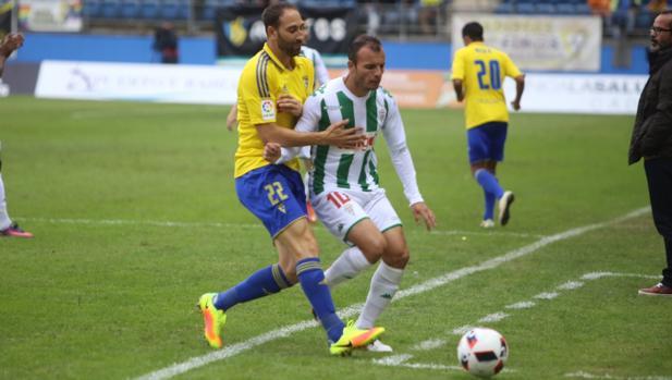 Imagen del Cádiz CF-Córdoba CF de esta tarde en el Carranza