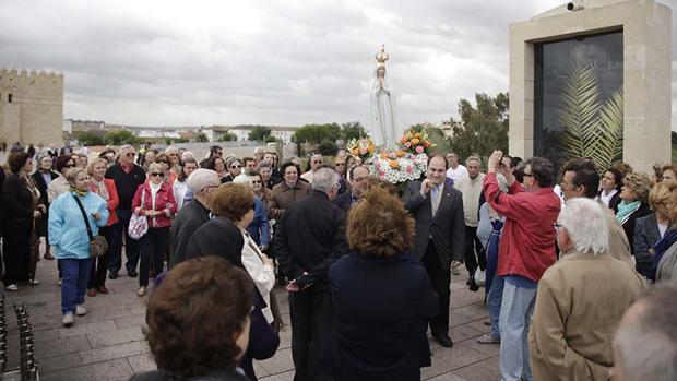 La Virgen peregrina de Fátima regresa a Córdoba