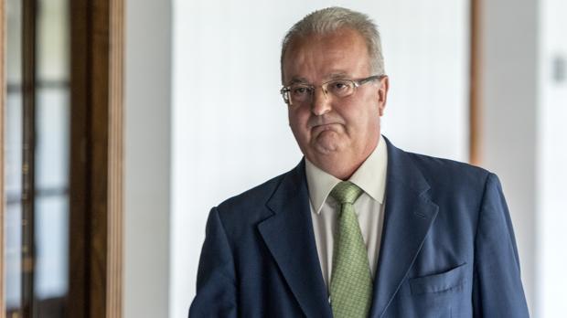 El exconsejero andaluz Antonio Fernández, para quien la Fiscalía Anticorrupción pide 20 años de cárcel