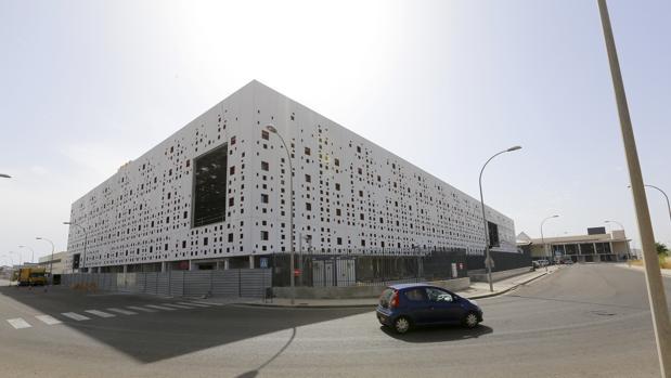 Estado actual del Centro de Convenciones de Córdoba, en el Parque Joyero